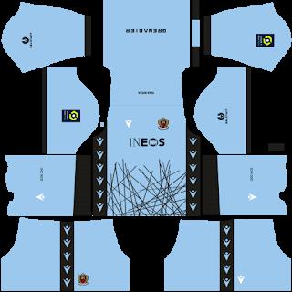 OGC Nice Goalkeeper Home Kit