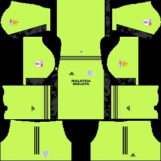 Cardiff City Goalkeeper Home Kit