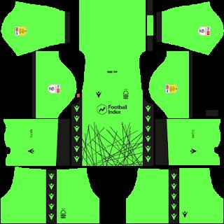 Nottingham Forest FC Goalkeeper Home Kit
