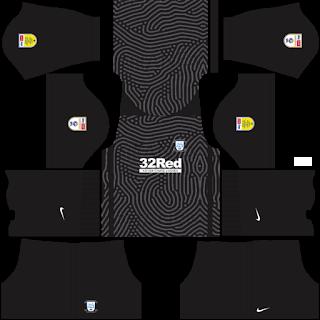 Preston North End FC Goalkeeper Home Kit