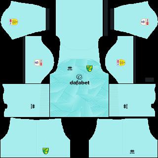 Norwich City FC Goalkeeper Home Kit