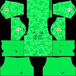 Swansea City AFC Goalkeeper Home Kit