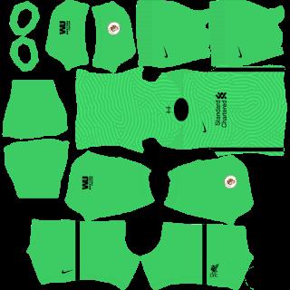 Liverpool GoalkeeperThird Kit
