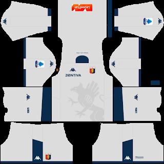 Genoa FC Goalkeeper Third Kit