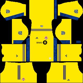 Toronto FC Goalkeeper Third Kit