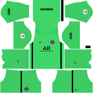 Terceiro kit de goleiro do Paris Saint-Germain