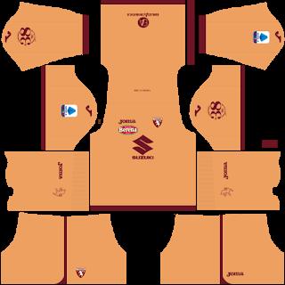 Torino FC Goalkeeper Third Kit