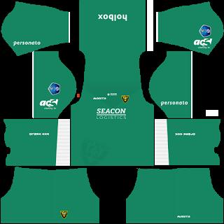 VVV-Venlo Goalkeeper Third Kit
