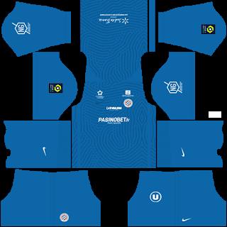 Montpellier HSC Goalkeeper Third Kit