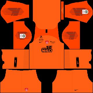 Stade Brestois Goalkeeper Third Kit