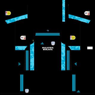 Cardiff City Goalkeeper Third Kit