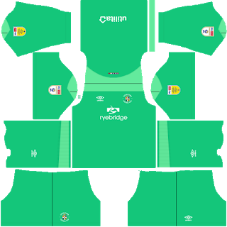 Luton Town FC Goalkeeper Third Kit