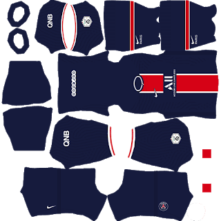 Kits DLS de Paris Saint-Germain 2021