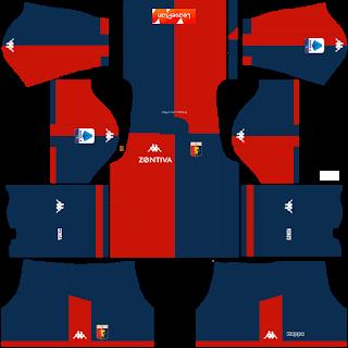 Genoa FC Home Kit
