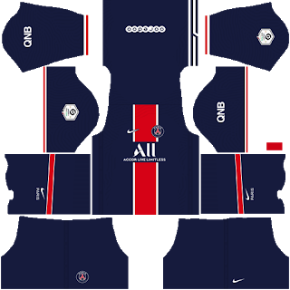 Kit da casa do Paris Saint-Germain