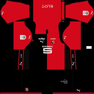 Stade Rennais FC Home Kit