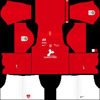 Stade Brestois Home Kit