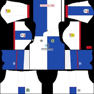 Blackburn Rovers FC DLS Kits 2021