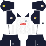 Preston North End FC DLS Kits 2021