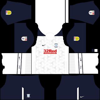 Preston North End FC DLS Kits 2021