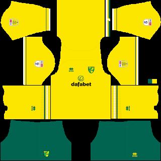 Norwich City FC DLS Kits 2021