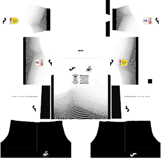 Swansea City AFC DLS Kits 2021