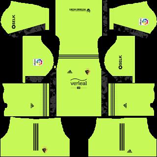 CA Osasuna Goalkeeper Home Kit