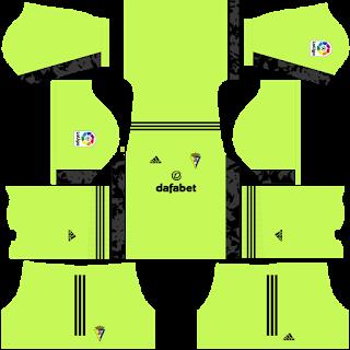 Cádiz CF Goalkeeper Away Kit