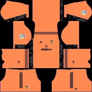 Cádiz CF Goalkeeper Home Kit