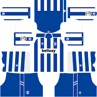 Deportivo Alaves DLS Kits 2021