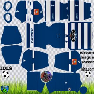 Deportivo de La Coruna DLS Kits 2021
