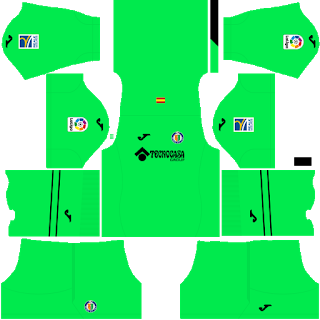 Getafe CF Goalkeeper Home Kit