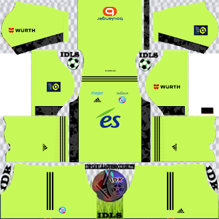 RC Strasbourg Alsace Goalkeeper Away Kit