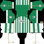 Real Betis DLS Kits 2021