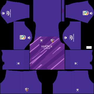 SD Huesca Goalkeeper Away Kit