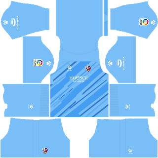 SD Huesca Goalkeeper Home Kit