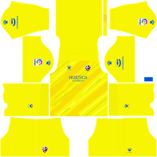 SD Huesca Goalkeeper Third Kit