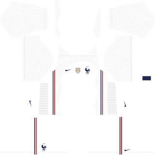 France Euro Cup 2021 Away Kit