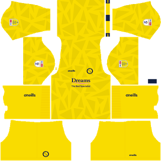 Wycombe Wanderers FC Away Kit