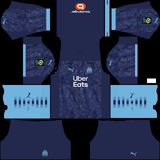 Olympique Marseille Away Kit