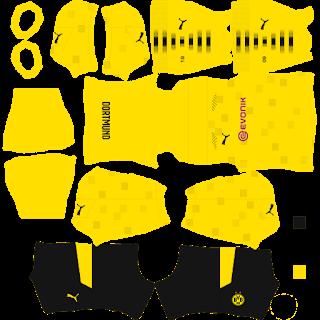 Borussia Dortmund Forth Kit