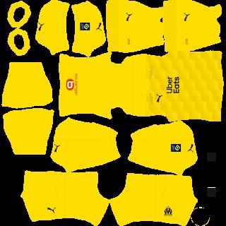 Olympique Marseille Goalkeeper Away Kit