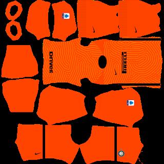 Inter Milan GoalkeeperAway Kit