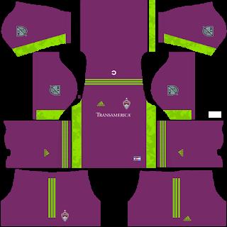 Colorado Rapids Goalkeeper Away Kit
