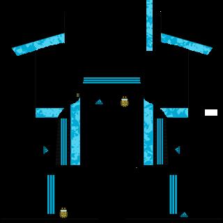 Argentina Copa América 2021 Goalkeeper Away Kit