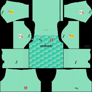 Rotherham United FC Goalkeeper Away Kit