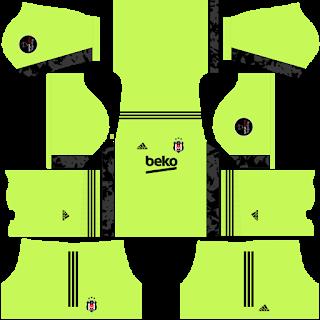 Besiktas JK Goalkeeper Away Kit