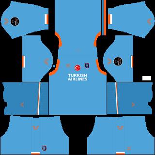 Istanbul Basaksehir FK Goalkeeper Away Kit
