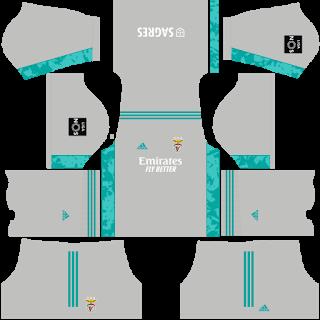 SL Benfica Goalkeeper Away Kit