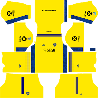 Boca Juniors Away Goalkeeper Kit